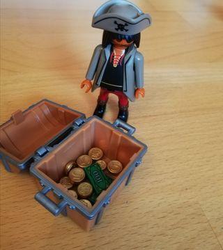 Playmobil pirata y tesoro