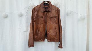 ZARA chaqueta de piel autentica Talla L