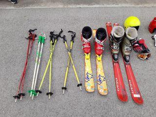 2 pack completos de esqui