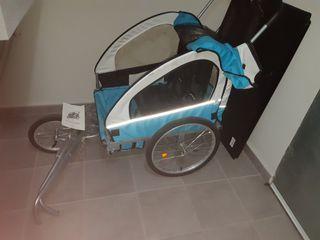carro/remolque bicicleta portaniños