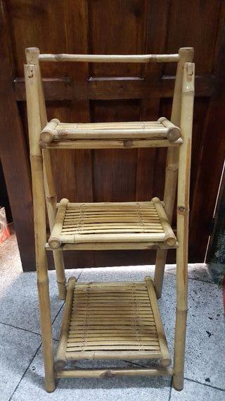 estanteria bambú