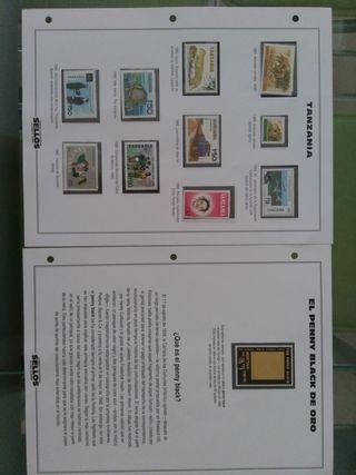 Lote de sellos filateria