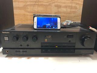 Amplificador Technics SU-V450+ALTAVOCES