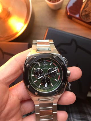 Reloj jaguar maquinaria suiza
