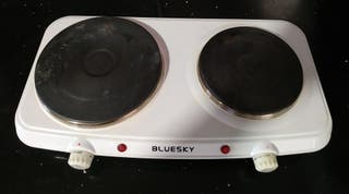Cocina eléctrica hornillo dos fuegos