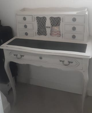 Mueble recibidor restaurado, consola, cómoda, mesa