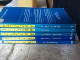 """Llibres """"TRIA LA TEVA AVENTURA"""""""