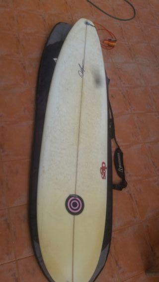 Tabla de surf 7'6 con funda