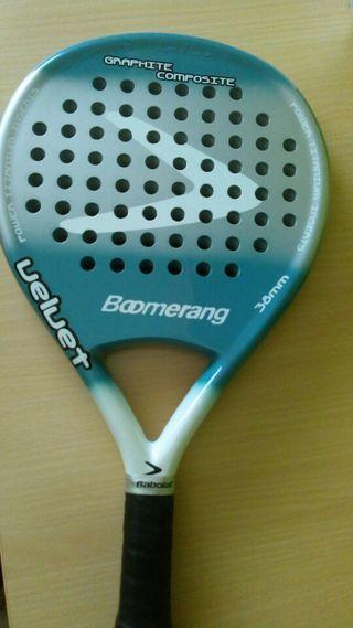Pala padel boomerang velvet