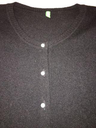Cardigan boton perla angora Xs benetton