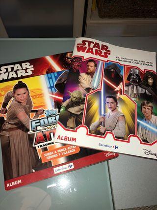 Álbumes Star Wars