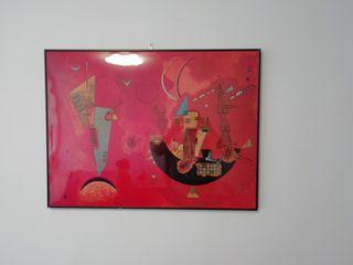 cuadro decorativo con marco