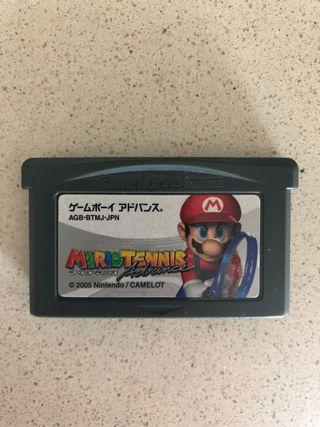 Mario tennis advance Nintendo game boy advance