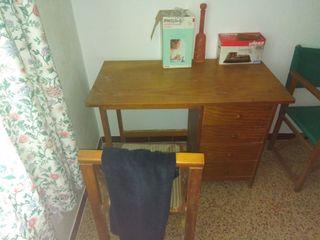 escritorio conpleto madera mazica