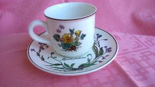 Villeroy & Boch Botanica taza de café con plato 15