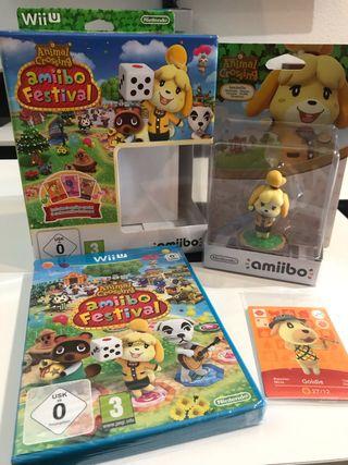 Wii U juego animal crossing Amiibo Nintendo