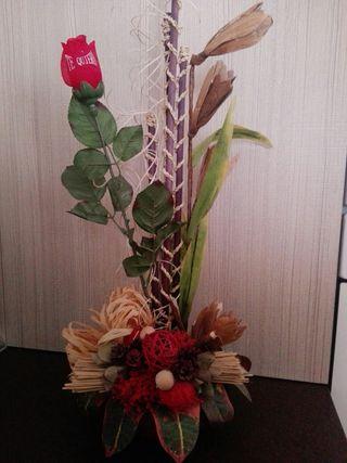 Centro flores o Florero