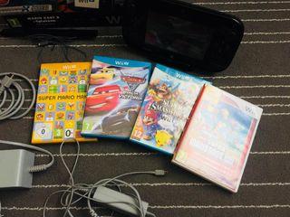 Wii u 32 gb con juegos