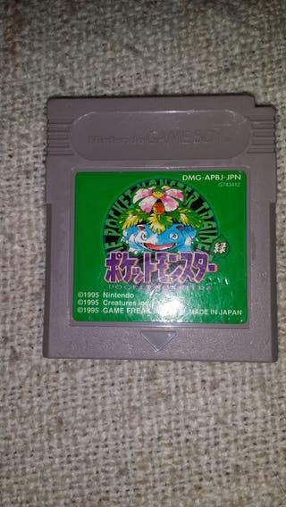 Juego Pokemon Verde Nintendo Gameboy Japones