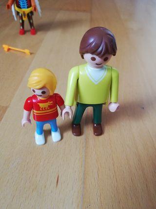 Playmobil padre e hijo
