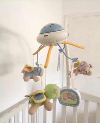 Carrusel proyector cuna Fisher Price