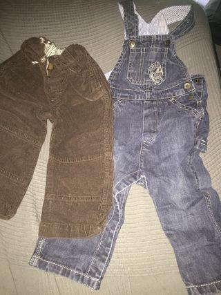 Peto mayoral y pantalón 18 meses