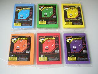 Lote 6 Cococrash originales de Evaland. Nuevos