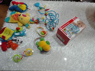 Lote 9 Juguetes bebe