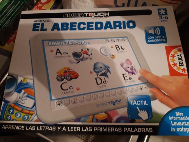 Juego Tablet educativo 3/6 años