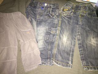 Lote pantalones 18/24 meses
