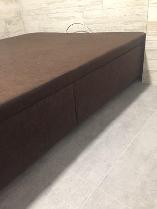 Canapé abatible 1,90 x 1,35 x 35