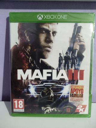 mafia 3 Xbox one nuevo