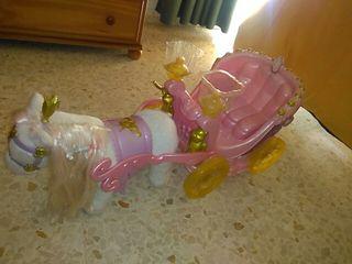 carroza con poni