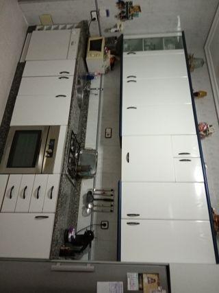 se vende cocina completa menos el frigorifico