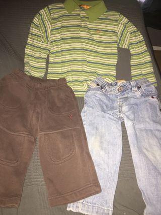 Lote ropa mayoral y domyos