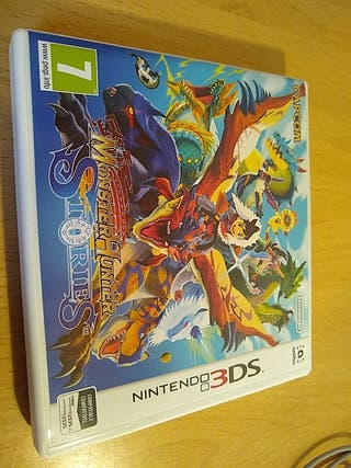 juego Monster Hunter 3ds