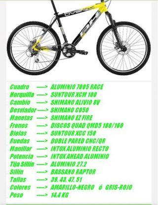Bicicleta BH overx