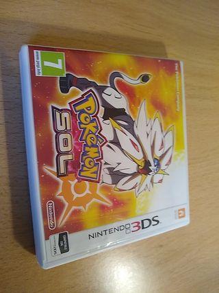 juego Nintendo Pokemon sol 3ds