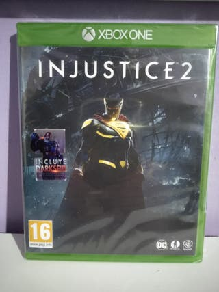 injustice 2 Xbox one nuevo