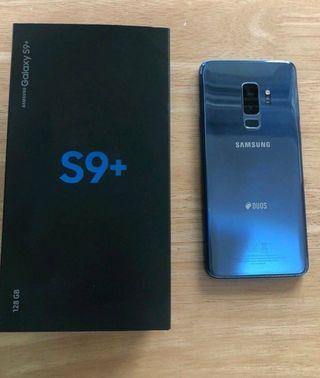 Samsung galaxy s9 plus coral blue 126gb