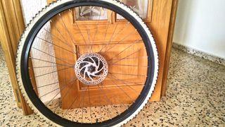 rueda bicicleta mountain bike