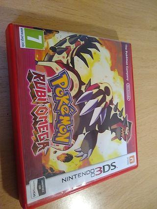 Pokemon Rubí Omega 3 ds