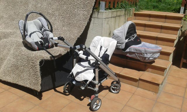 carrito bebe marca Loola