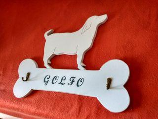 colgador de correas para perro personalizadas