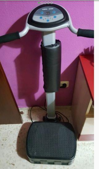 Plataforma vibradora vibra-sana está muy nueva