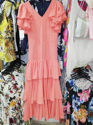 tres vestidos de flamenca