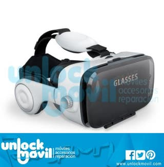 Gafas VR 3D Con Audio Forever VR-B200 Universal