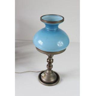 Antigua lámpara quinqué