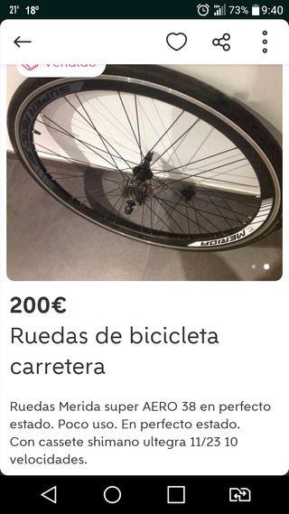 Ruedas Merida Aero 38