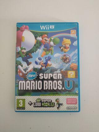 new super Mario Bros u + Luigi u wii